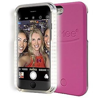 iPhone 6 Plus Lumee Illuminated Cell Phone Case- Hot Pink
