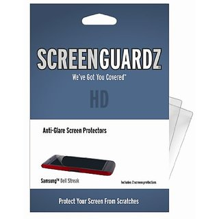 ScreenGuardz HD 2-Pack Anti-Glare Durable Screen Protector for Dell Streak (Clear)