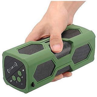 Waterproof Sport Speaker, Portable Wireless Speaker, Bluetooth Speakers 4.0 Built-in Mic 3600mah Rechargeable Battery 12