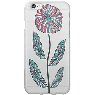 Centon Electronics OTM iPhone 6 Case Floral Collection - Retail Packaging - SingleFlower
