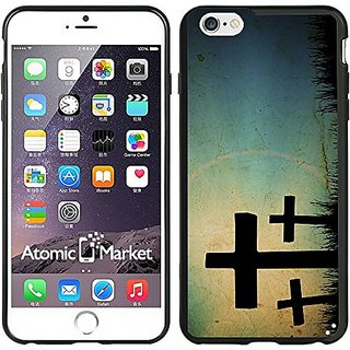 Crosses Sihlouette Case / Cover For Iphone 6 Plus 6S Plus 5.5 Inch by Atomic Market