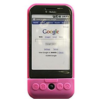 Silicone Cover - HTC/G1 - Pink