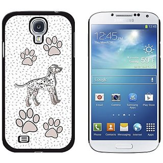 Graphics and More Dalmatian of Distinction Snap-On Hard Protective Case for Samsung Galaxy S4 - Non-Retail Packaging - B