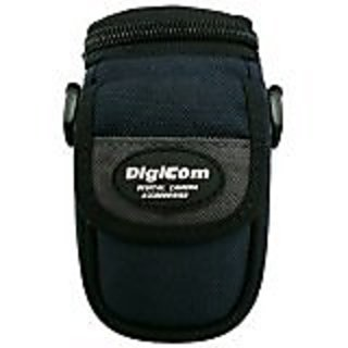 Digicom DCC116 Quick Access Water Resistant Camera Bag with Shoulder Strap (Blue/Black)