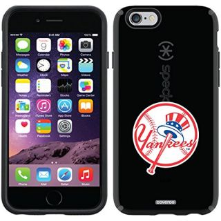 Coveroo CandyShell Case for iPhone 6 - Retail Packaging - Black/New York Yankees Design