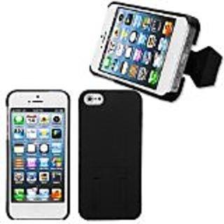 MYBAT IPHONE5HPCBKST106NP Premium SuperThin Case for iPhone 5 / iPhone 5S - 1 Pack - Retail Packaging - Black