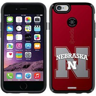 Coveroo CandyShell Case for iPhone 6 - Retail Packaging - Black/Nebraska Watermark Design
