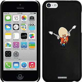 Coveroo Thinshield Snap-On Cell Phone Case for iPhone 5/5s - Yosemite Sam 2 Guns
