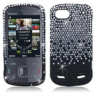 Aimo Wireless ZTEN861PCDI198 Bling Brilliance Premium Grade Diamond Case for ZTE Warp Sequent N861 - Retail Packaging