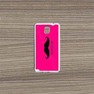 Krezy Case Samsung Galaxy Note 4 Case, Mustache Galaxy Note 4 Case, Galaxy Note 4 Case, Cute Galaxy Note 4 Case, Designe