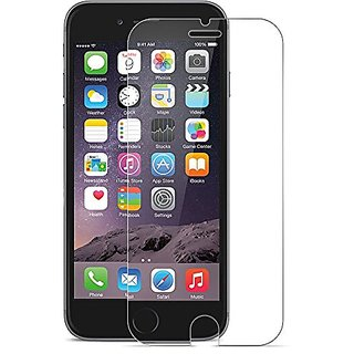 iPhone 6+ and 6S PLUS Tempered Glass Screen Protector, Heavy Duty, Protects from Drops/Scrapes, Premium Invisible Screen