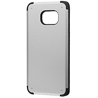 Asmyna Phone Case for SAMSUNG Galaxy S6 Edge Plus - Retail Packaging - Silver