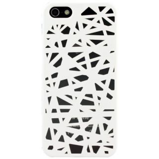 Katinkas 2108053818 Hard Cover for Apple iPhone 5 - Mesh - 1 Pack - Retail Packaging - White