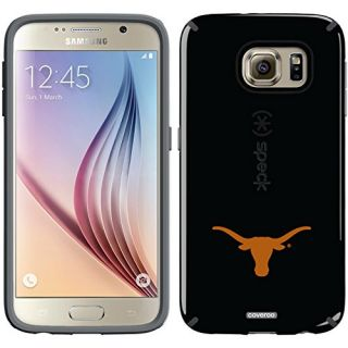 Coveroo CandyShell Cell Phone Case for Samsung Galaxy S6 - Retail Packaging - University of Texas Mascot
