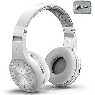 LUXMO Bluedio H+(Turbine) Bluetooth Stereo Wireless Headphones Hifi Bulit-in Microphone Micro-SD Music String/FM Radio B