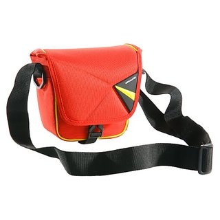 VANGUARD Pampas II 13RD Stylish Protector for Compact Mirrorless Interchangeable Lens Camera Setup (Red)