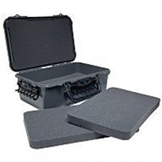 Plano Molding Company `Go Pro` ABS Camera Case, Metallic Gray/Black
