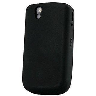 Silicone Cover - BlackBerry Tour 9630 - Black