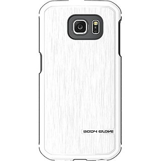 Body Glove Fusion Pro Phone Case for Samsung Galaxy S6 - Retail Packaging - White/Grey