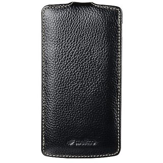 Melkco - Premium Leather Case for Google Nexus 5 - (Black) - LGNEX5LCJT1BKLC