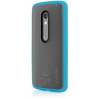 Incipio Octane Carrying Case for Motorola Droid MAXX 2/Motorola Moto X Play - Retail Packaging - Frost/Cyan