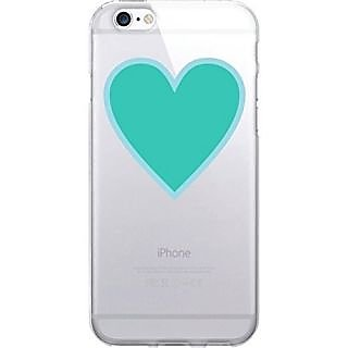 Centon Electronics Cell Phone Case for iPhone 6 - Retail Packaging - Heart Beat Blue