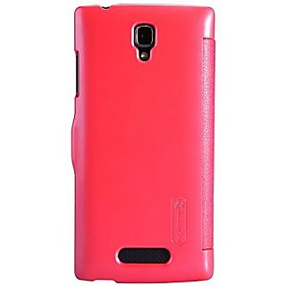 Nillkin Nillkin OPPO R831S Fresh Series Leather Case - Retail Packaging - Red - Carrying Case - Retail Packaging - Red