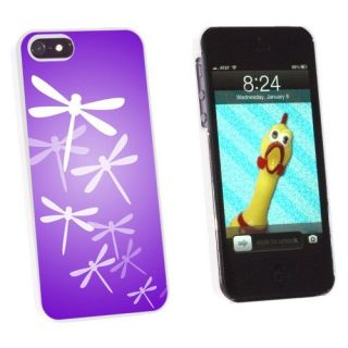 Graphics and More Purple Dragonfly - Dragonflies Snap-On Hard Protective Case for Apple iPhone 5/5s - Non-Retail Packagi