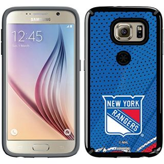Coveroo CandyShell Cell Phone Case for Samsung Galaxy S6 - Retail Packaging - New York Rangers Home Jersey