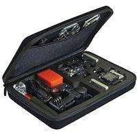 Premium Large Custom Case For Gopro Hero1, Hero2, Hero3, Hero 3+, Hero4 Camera + Cleaning Cloth