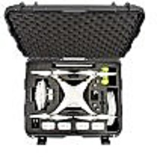 Nanuk 950-DJI7 950 Case with Foam Insert Designed for The DJI Phantom 3 (Graphite)