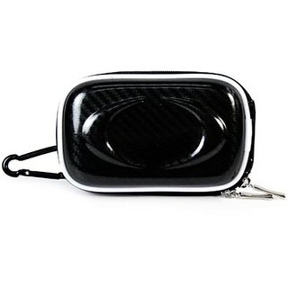 Kroo Black Licorice CANDY Hard Case Fits 3.5-Inch Slim Camera Case