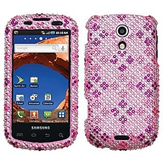 Asmyna SAMD700HPCDM184NP Stylish Dazzling Diamante Case for Samsung Epic 4G/Galaxy S D700 - 1 Pack - Retail Packaging