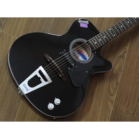 Givson Semi - Electric Guitar ( Cambridge ) Shiny Black - Pick up  E.Q