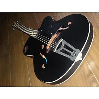 Givson Acoustic Guitar   Crown Special   Black in Matt Finish available at ShopClues for Rs.4300