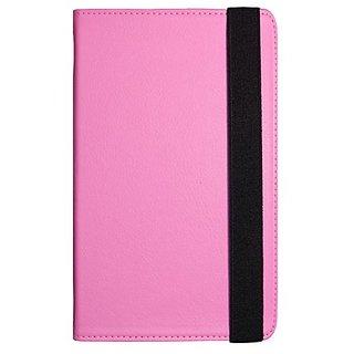 Visual Land Prestige 10-Inch Pro Folio Case, Pink (ME-TC-010-PNK)