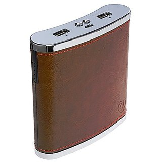 Digital Treasures Props PowerFlask Travel Charger - Retail Packaging - Brown
