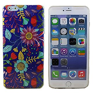 Fashion Case Lovely Country Flowers Soft Shell Case for iPhone 6 (4.7 Inch Screen) (YP-TPUH-I6-02)