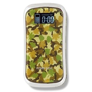 Joltz Power Banks Rechargeable High Capacity 9000 mAh Battery for cell phones and tablets (Camo)