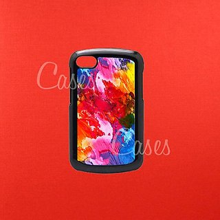 BlackBerry Q10 Case, Blackberry Case, Blackberry cover, Paint Stroke Blackberry Q10 Case, Blackberry Q10 case