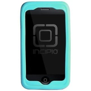 Incipio iPhone 3G/3GS honu Silicone Case - 1 Pack - Carrying Case - Retail Packaging - Turquoise/Deep Red
