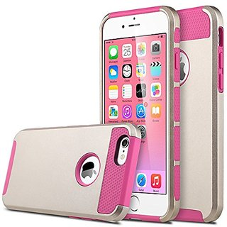 iPhone 6 Case, ULAK 2 in 1 Shield Hybrid Case for iPhone 6 4.7 inch Hybrid Dual Layer Hard Case for iPhone 6 4.7 inch TP