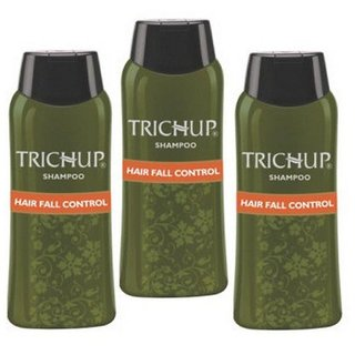 Trichup Hair Fall Control Herbal Hair Shampoo (200 ml x 3)