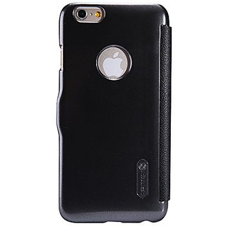 Nillkin Fresh Series Leather Case for Apple iPhone 6 - Retail Packaging - Black