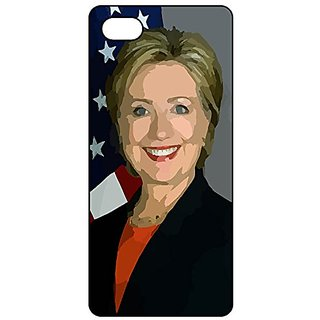 iPhone 6 / 6S PlusSlim Lightweight Rubber Silicone Phone Case Cover with Hillary Rodham Clinton Black