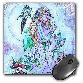 3dRose LLC 8 x 8 x 0.25 Inches Mother Earth Spirit Mouse Pad (mp_14333_1)