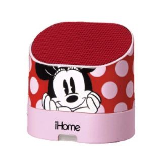 eKids Minnie Mouse Portable Rechargeable Speaker for MP3 Players/iPhone/iPad, by iHome - DM-M63