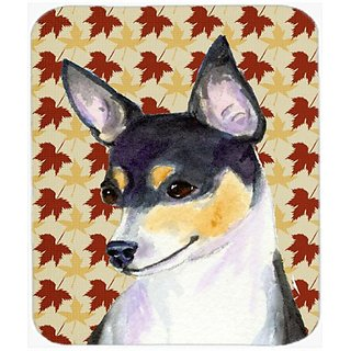 Carolines Treasures Chihuahua Fall Leaves Portrait Mouse Pad/Hot Pad/Trivet (SS4338MP)