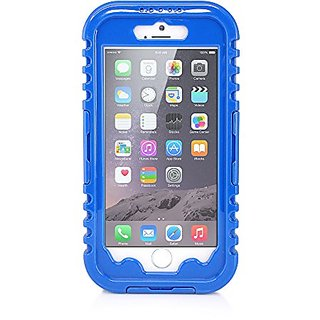 Gearonic Waterproof Hybrid Rugged PC Heavy Duty Shockproof Durable Hard Back Full Cover Case for Apple iPhone 6 - Non-Re
