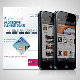 New Plus Bulletproof Screen Protective Flexible Glass Filter Film for Apple iPhone 5